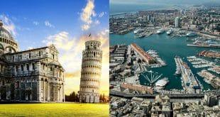 Как добраться из Пизы в Геную
