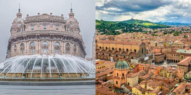 Как добраться в Болонью из Генуи