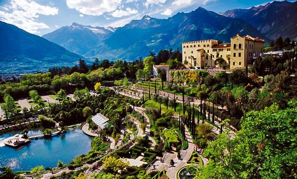 Ботанический сад и замок Трауттмансдорф