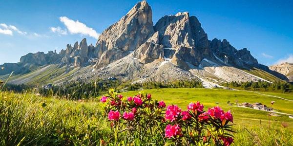 Лето в Доломитовых Альпах