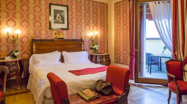 Номер отеля Due Torri Hotel 5 звезд в Вероне