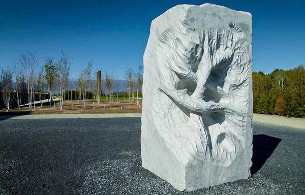 Сад текучих скульптур в Венарии