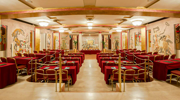 Конференц-зал отеля 5 звезд Due Torri Hotel в Вероне