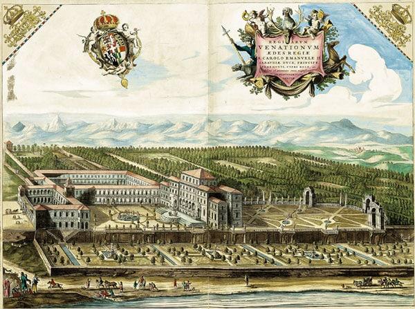 История строительства Королевского дворца Венария