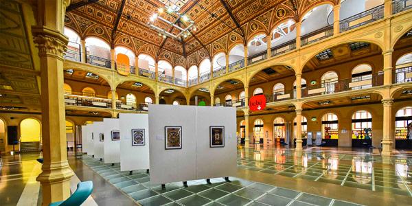 библиотека Salaborsa на площади Нептуна в Болонье
