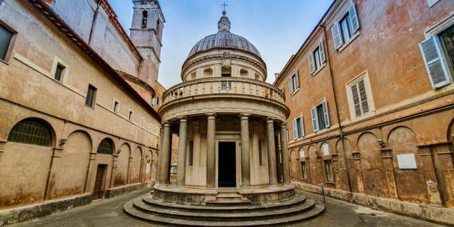 Темпьетто Браманте в Риме