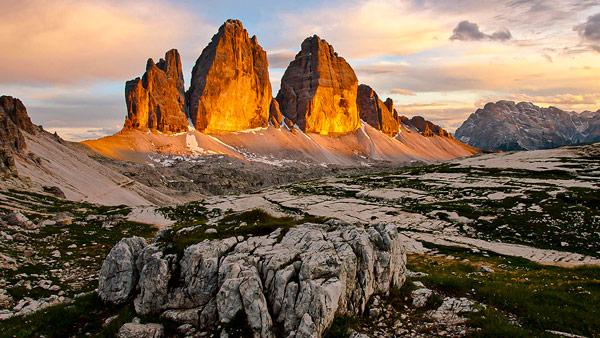 Горы Тре-Чиме-ди-Лаваредо