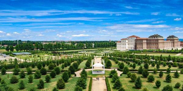 Садово-парковый ансамбль в дворце Венария Турин