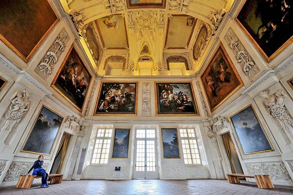 Зал Дианы Королевский дворец Венария
