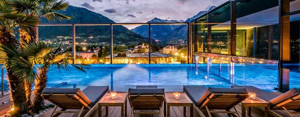 Термальные источники в Мерано, Доломитовые Альпы