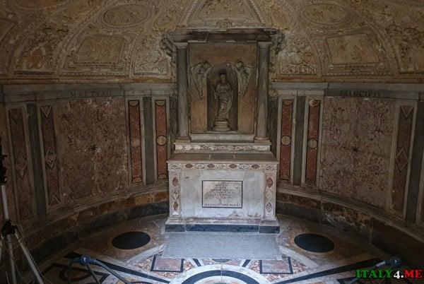 Крипта Темпьетто Браманте в Риме