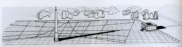 Тень от обелиска указывала 23 сентября на Алтарь Мира в Риме