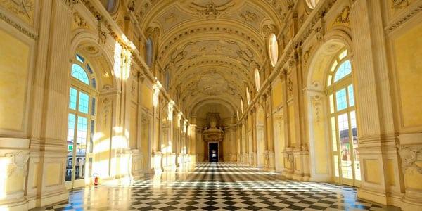 Большая галерея в королевском дворце Венария
