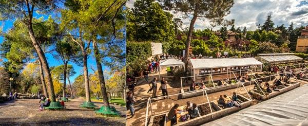 Местные жители отдыхают в садах Маргариты, Болонья