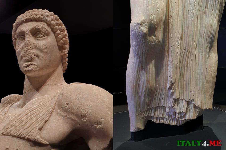 Юноша из Мотии греческая скульптура V век до нашей эры