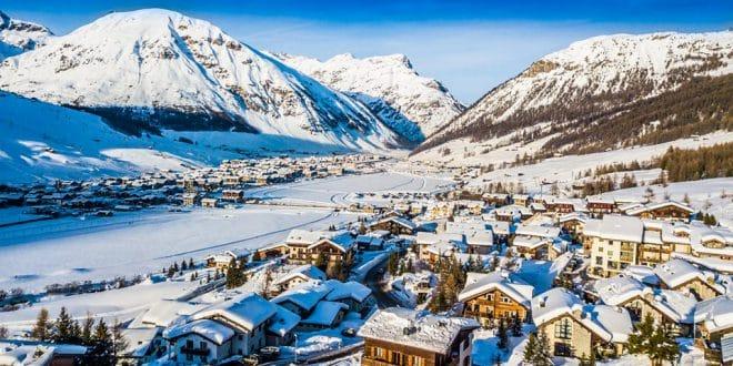 Ливиньо горнолыжный курорт в Италии