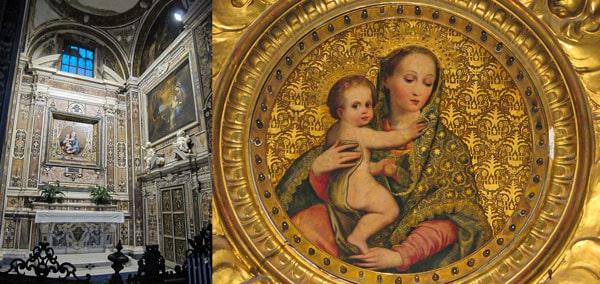 «Мадонна чистоты» (Madonna della purita) Луиса де Моралес, Сан Маоло Маджоре Неаполь