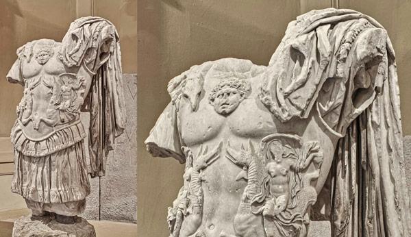 Статуя императора Нерона в археологическом музее Болоньи