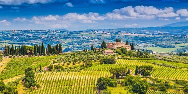 Отдых в сельской Италии на фермах