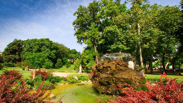 Сады королевы Маргариты в Болонье