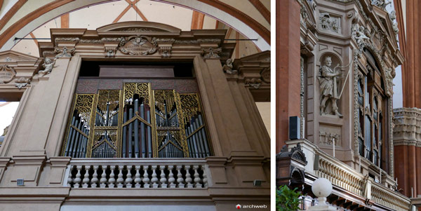 Орган 1475 года в базилике святого Петрония