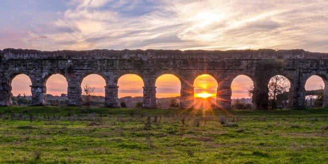 Парк акведуков в Риме