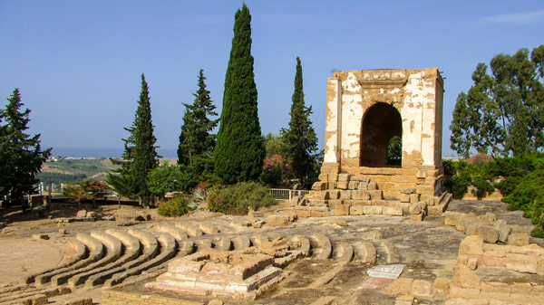 Экклезиастерион Агридженто место народных собраний