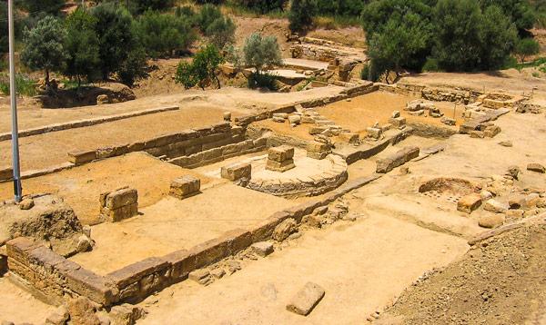 Гимнасий в долине Храмов Агридженто