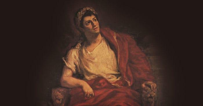 Император Нерон в юности