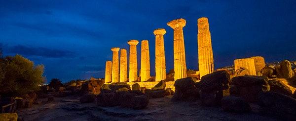 Храм Геркулеса в Агридженто