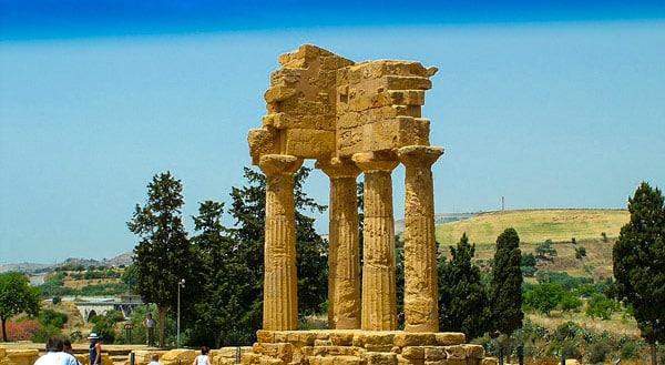 Храм Диоскуров в Агридженто
