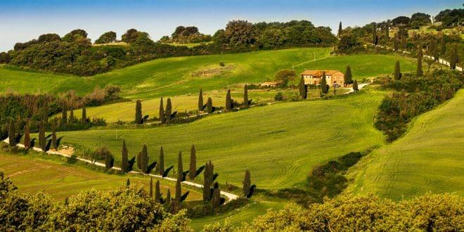 Фермерские дома в Тоскане