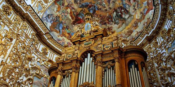 Орган в кафедральном соборе Сан-Герландо в Агридженто