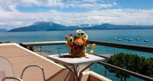 Недорогой отель на озере Гарда