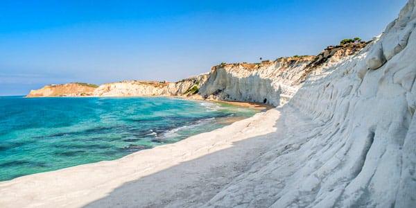 Scala dei Turchi Beach in Agrigento Sicily