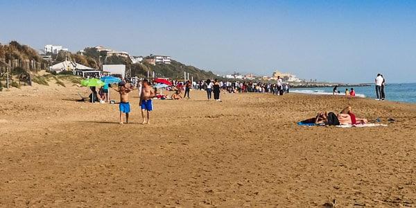 San Leone Beach in Agrigento