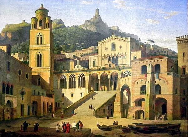 Собор Святого Андрея Первозванного в Амальфи 17 век