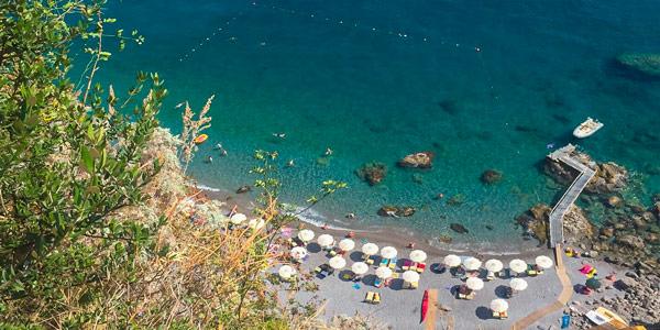 Пляж Дуоглио рядом с Амальфи