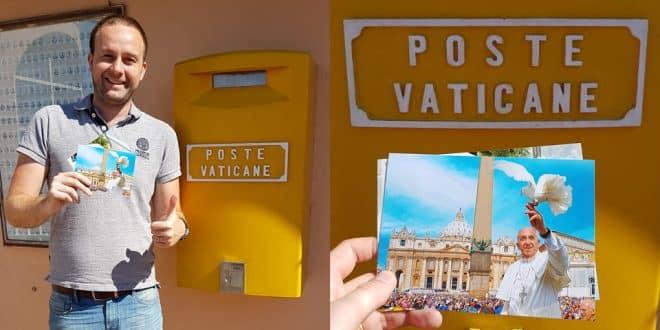 Почта Ватикана: как отправить открытку