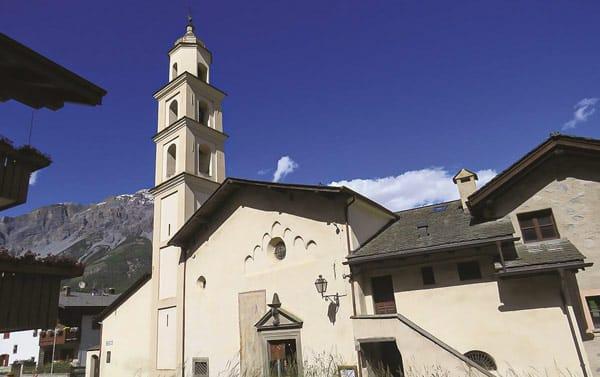 Церковь Санта Лючия (Chiesa di Santa Lucia) в Бормио
