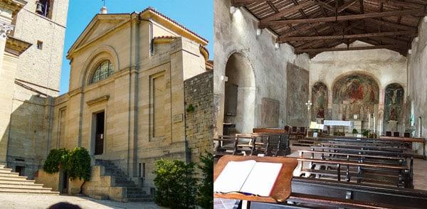 церковь Святого Петра (Chiesa di San Pietro) в Сан-Марино