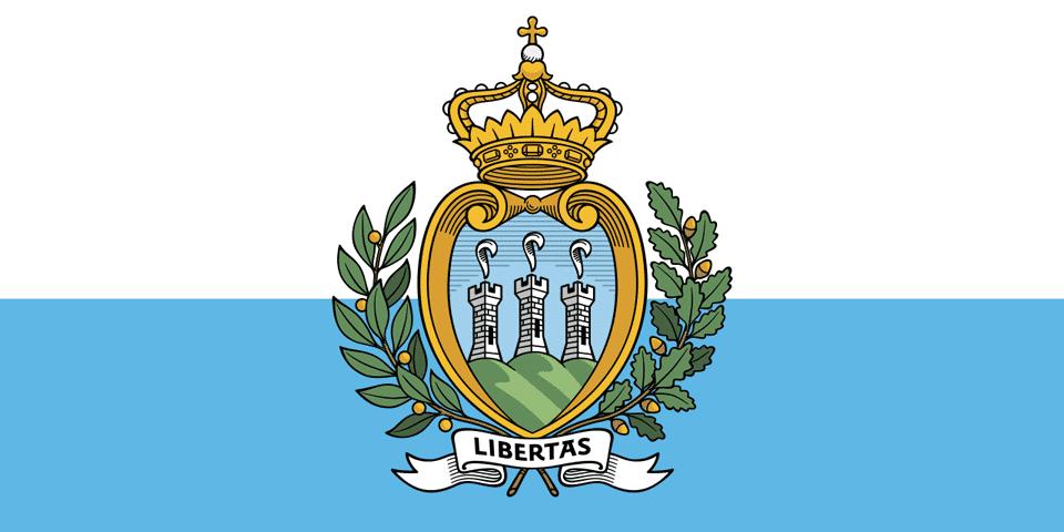 Флаг и герб Сан-Марино