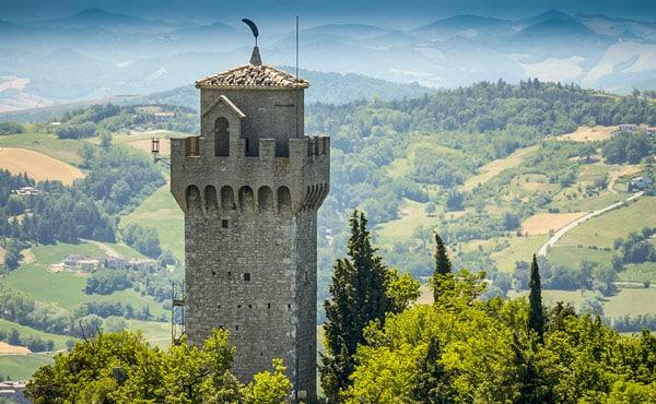 Третья башня Терца-Торре (Montale, Terza Torre) в Сан-Марино