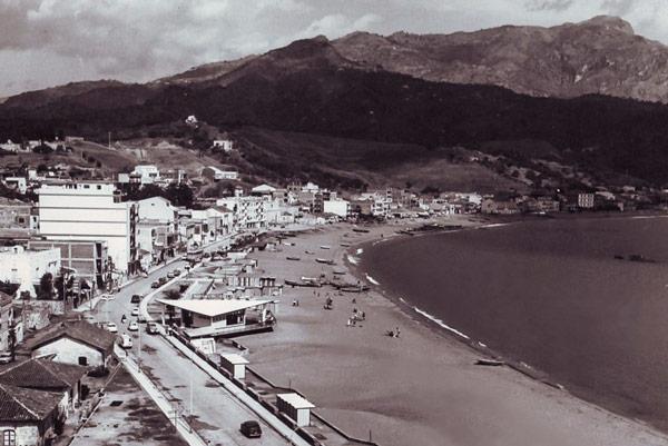 набережная Джардини-Наксос в 1960 году