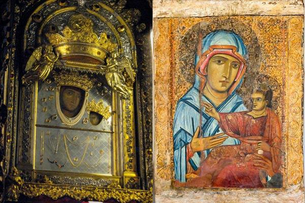 чудотворная икона Девы Марии в Болонье написана евангелистом Лукой