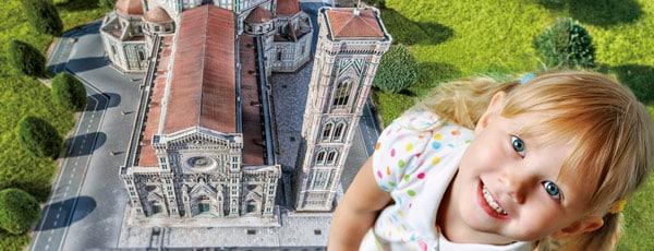 Парк Италия в миниатюре Римини