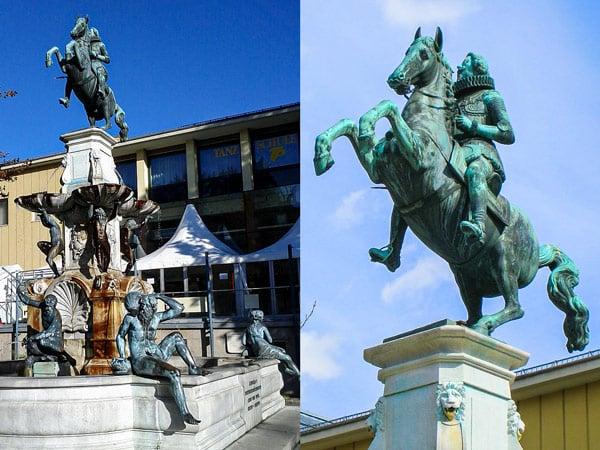 Памятник Эрцгерцогу Леопольду V в Инсбруке