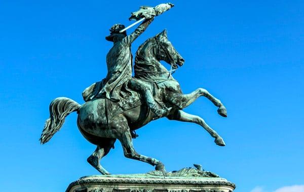 Памятник эрцгерцогу Карлу Австрийскому в Вене