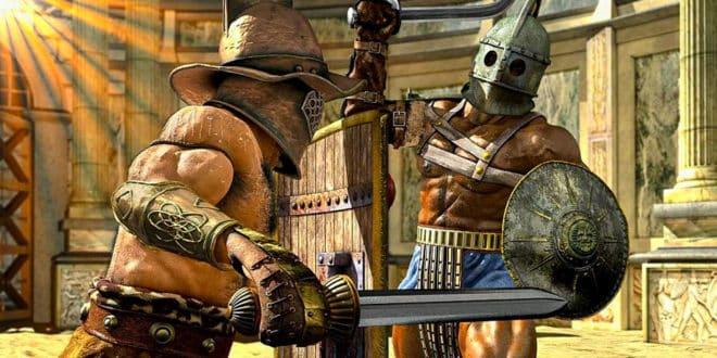 Гладиаторские бои в Древнем Риме