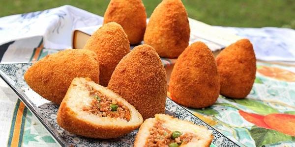 Arancini сицилийская закуска